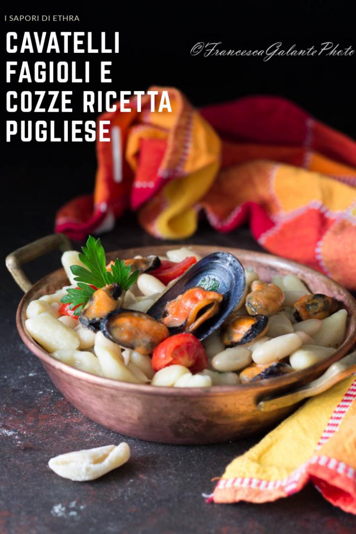 Cavatelli fagioli e cozze ricetta pugliese