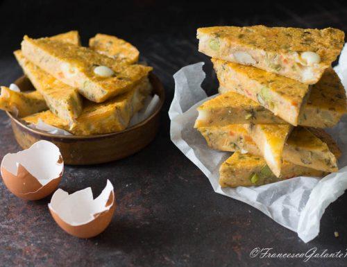 Frittata veloce ortolana ricetta riciclo