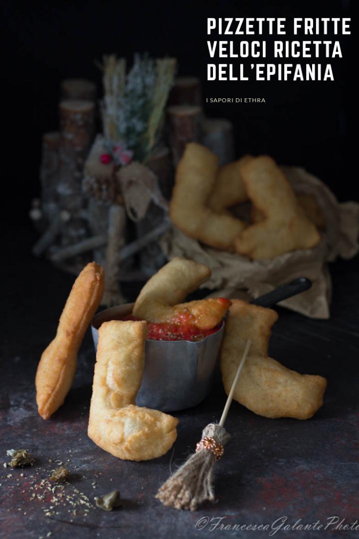 Pizzette fritte veloci ricetta dell'Epifania