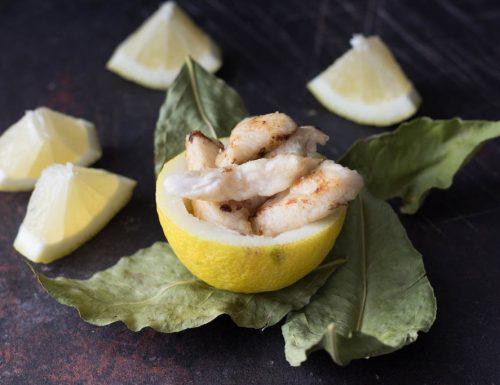 Petto di pollo marinato al limone e zenzero