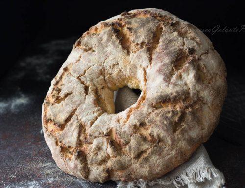 Pane con farina tipo 2 e lievito madre