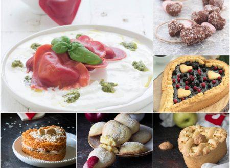 San Valentino  ricette dolci e salate