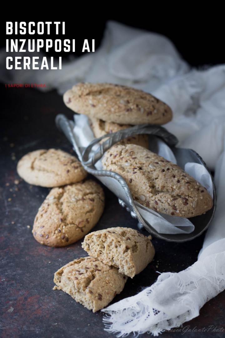 Biscotti con cereali inzupposi golosissimi