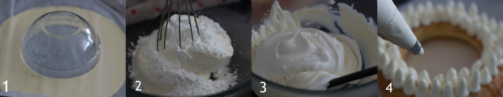 Torta ciambella con sfoglia e fragolelocissima