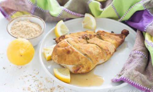 Pollo speziato al limone facile e gustoso