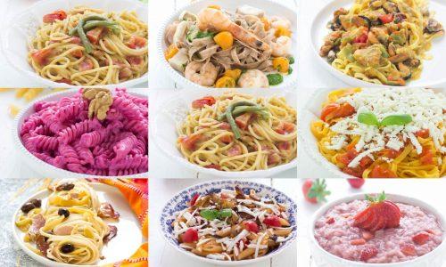 Ricette estive primi piatti raccolta