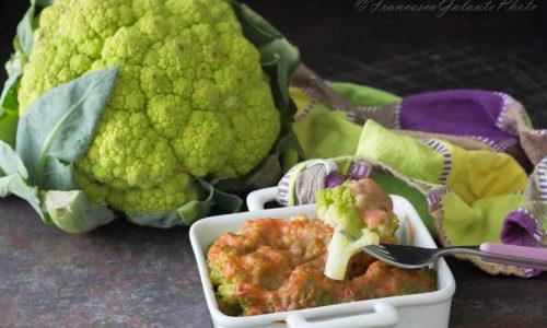 Broccoli gratinati al forno con besciamella