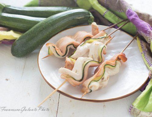 Pollo zucchine e tacchinella facile e veloce