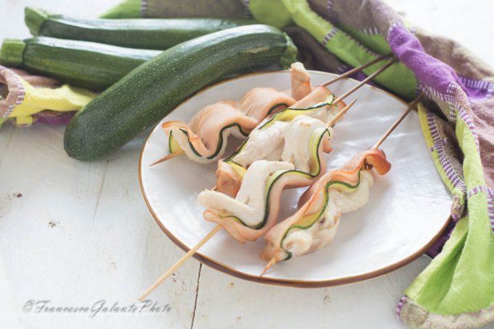Pollo zucchine tacchinella facile e veloce