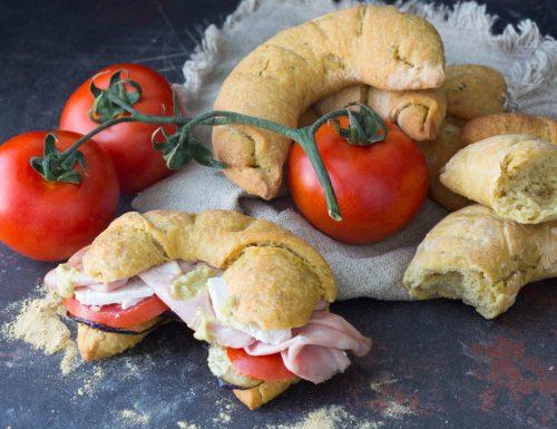 Pane di curcuma impasto con lievito madre