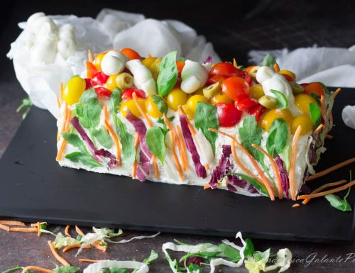 Torta tramezzini variegata velocissima