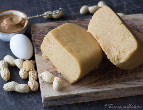 Pasta frolla friabile al  burro di arachide
