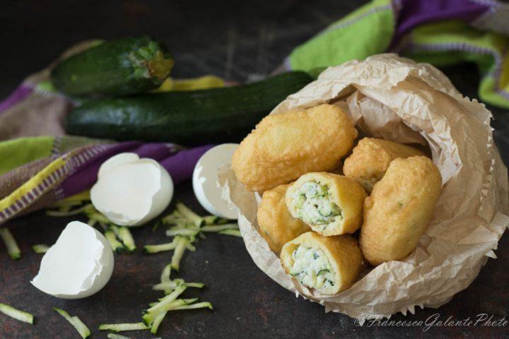 Frittelle con la ricotta e zucchine in pastella