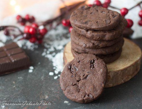 Biscotti con cioccolato e sale di  Teresa Doria