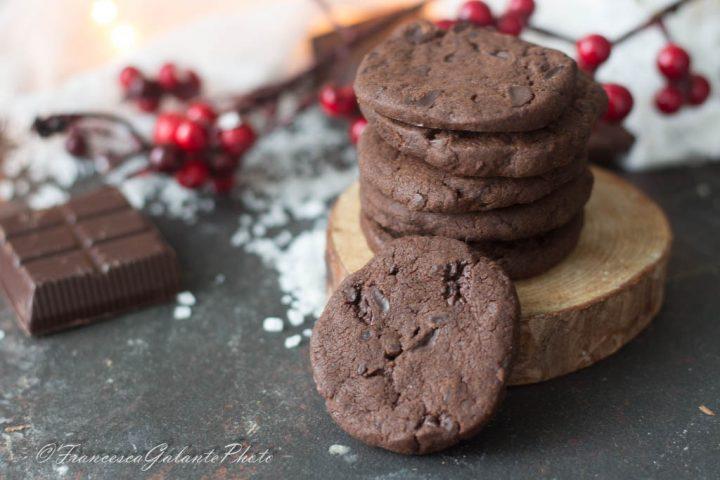Biscotti con cioccolato e sale di Cervia di Teresa Doria