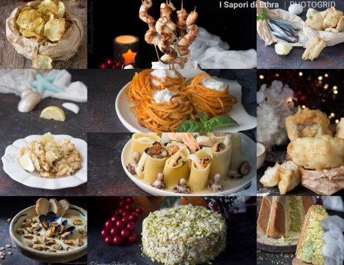 Vigilia di Natale menu   dall'antipasto al dolce