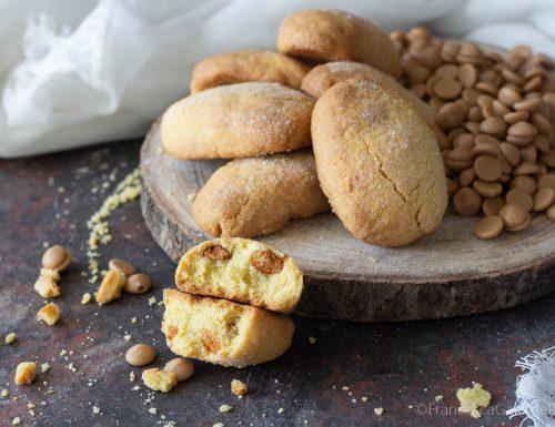 Cookies al cioccolato gold gusto caramello