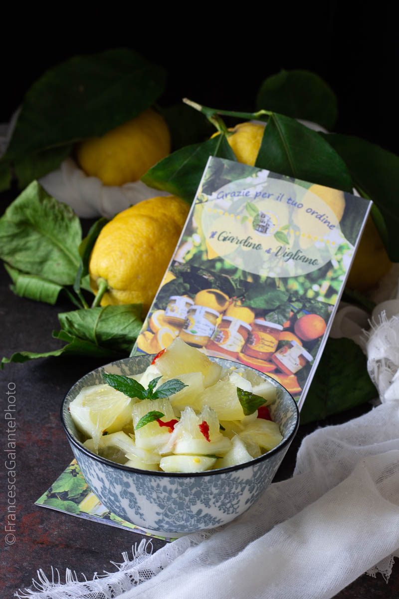 Insalata di limoni procidana originale
