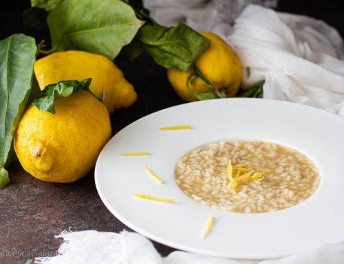 Risotto   con   limone di Sorrento cremosissimo