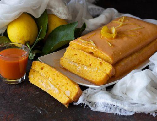 Plumcake soffice alla carota e limone