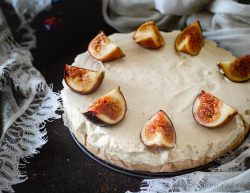 Cheesecake fichi freschi leggerissima