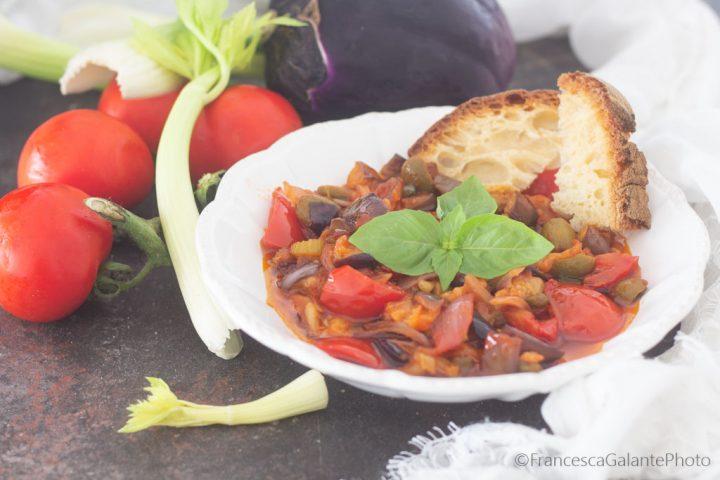 Caponata alla siciliana ricetta originale