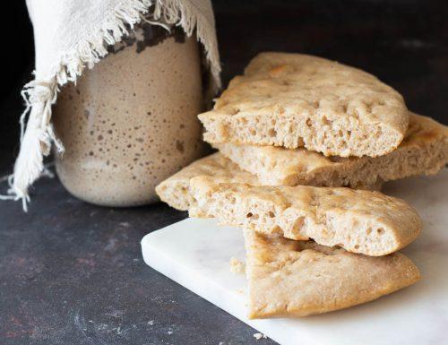 Ricetta focaccia con farina e licoli integrale
