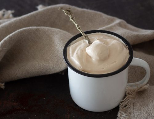 Mousse caffè e Zabov  velocissima