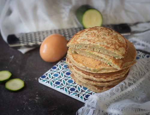 Pancakes di zucchine  salati e facilissimi