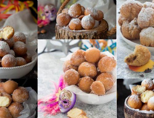 Dolci di Carnevale: le castagnole fritte / 6 gusti diversi