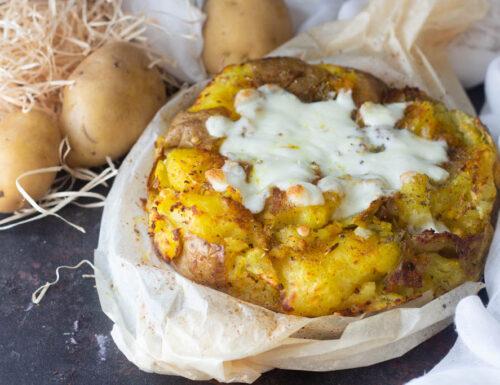 Torta di patate crunch senza stampo
