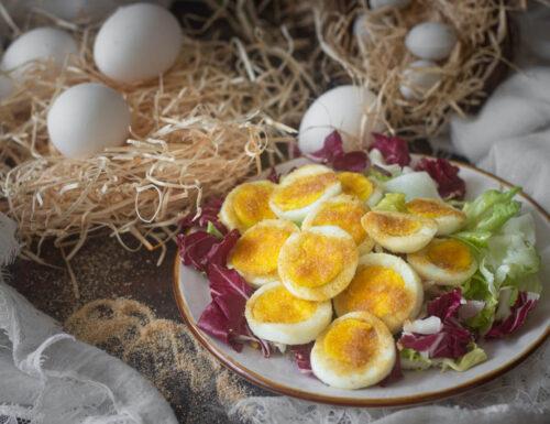 Uova sode al forno gratinate antipasto veloce