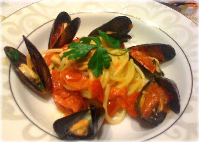 Spaghettoro alle cozze e cozze gratinate   I sapori di Sara