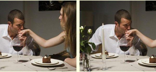 Menù romantico per una cena tete-à-tete