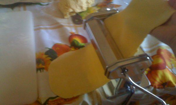La pasta fatta in casa