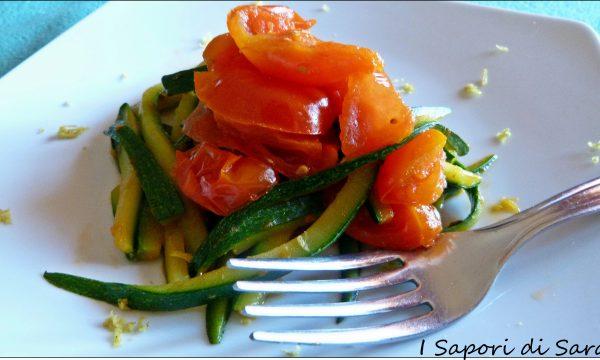 Spaghetti di zucchine…un contorno o un primo piatto?