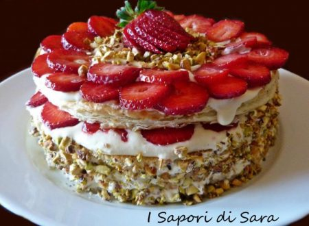 Torta diplomatica alle fragole