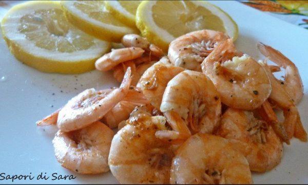 Pranzo di pesce, per l'onomastico di mio marito
