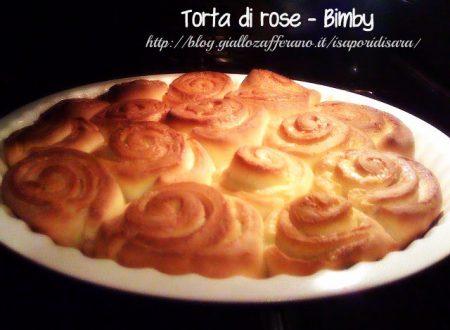Torta di rose – ricetta con Bimby