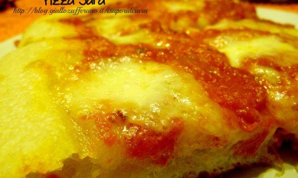 Pizza Sara, a lievitazione naturale.