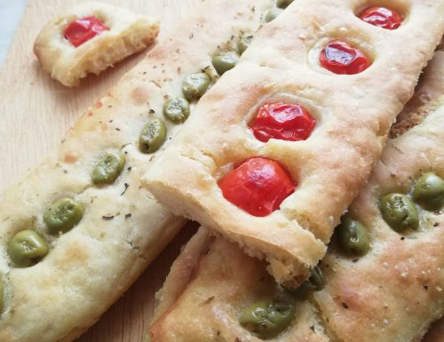 Stecche di pane ** ricetta veloce – senza impasto