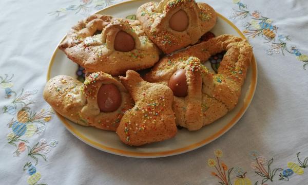 """""""Cuddura cu l'ovu"""" , ricetta tradizionale Pasquale"""