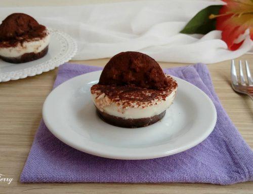 Mini cheesecake Pan di Stelle con crema di yogurt e nutella