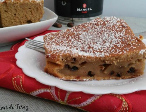 Torta  di ricotta  caffè e cioccolato ricetta senza burro