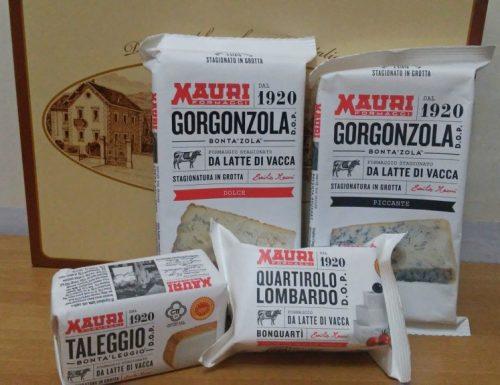 Collaborazione con formaggi Mauri