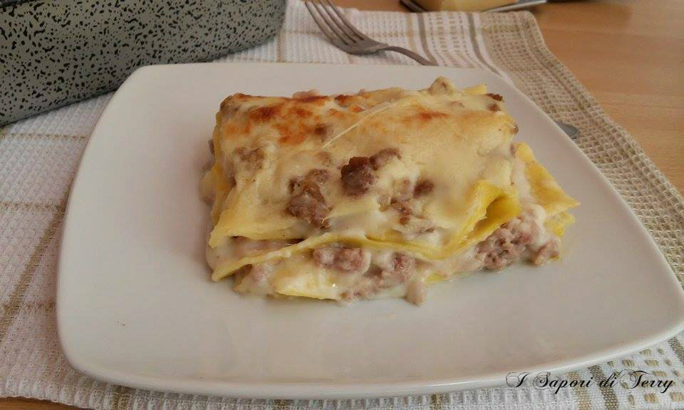 Lasagne ricche bianche
