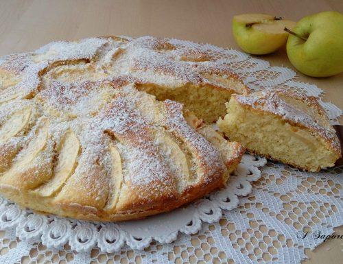 Torta soffice di mele e cocco