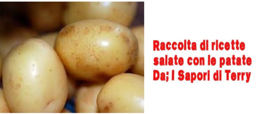 Raccolta di ricette salate con le patate
