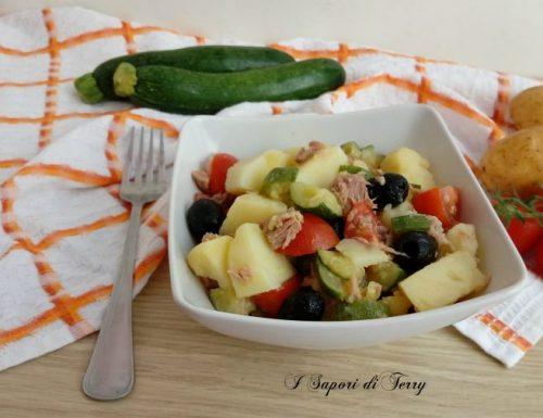 Insalata fredda di zucchine