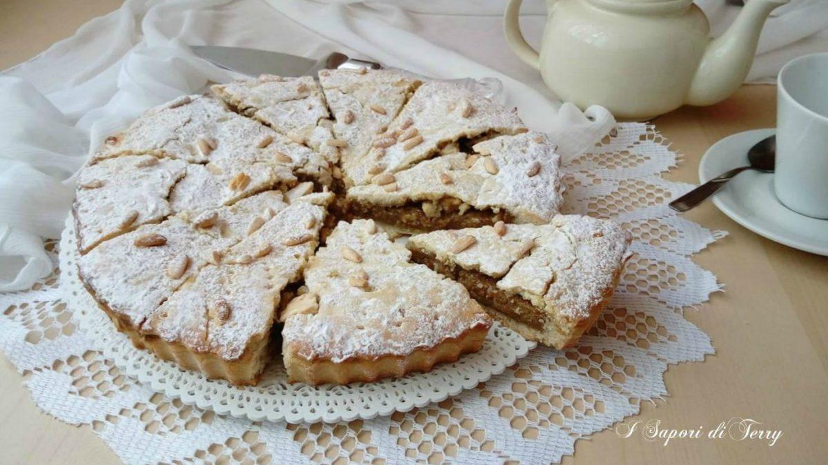 Torta Della Nonna Con Crema Al Caffè Ricetta Golosa